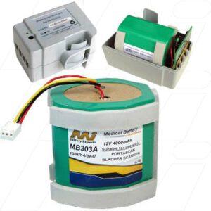 12V GE Healthcare Portascan Scanner MB303A Battery