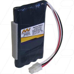 9.6V MediTop Exsudex Drainage Pump MB305 Battery