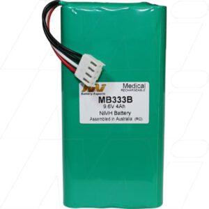 9.6V Fukuda Denshi Cardimax FX-7102 MB333B Battery