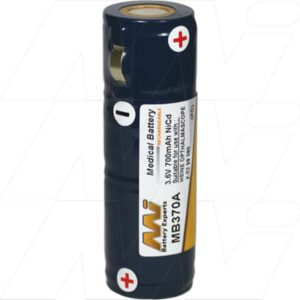 Heine 3.5V BETA NT rechargeable handle Medical Battery, 3.6V, 800mAh, NiCd, Mst, MB370A