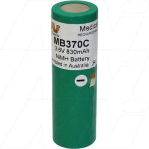 Heine 3.5V BETA NT rechargeable handle Medical Battery, 3.6V, 760mAh, NiMH, Mst, MB370C