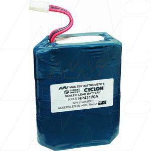 12V HP HP43120A Defibrillator MB392 Battery