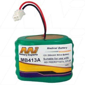 12V Imex Freedrop Foetal Doppler  MB413A Battery