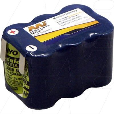 International Technidyne Corp Hemochron 401 Medical Battery, 7.2V, 1800mAh, NiCd, Mst, MB427