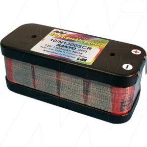 Ivac 631 Medical Battery, 12V, 1300mAh, NiCd, Mst, MB442