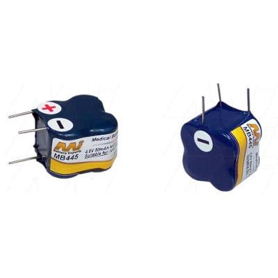 Ivac 770 Medical Battery, 4.8V, 50mAh, NiCd, Mst, MB445