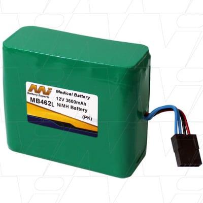 KCI Medical Ltd ATS V.A.C. M6257755 Medical Battery, 12V, 3600mAh, NiMH, Mst, MB462L