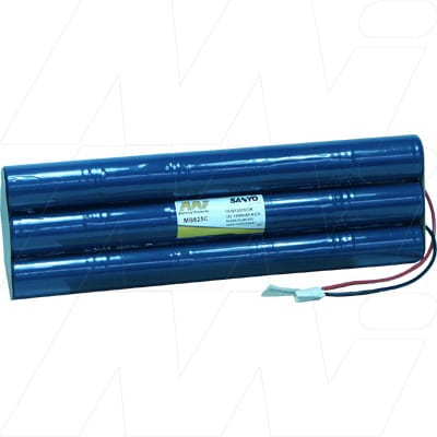 Marquette Cardiosmart ST Medical Battery, 18V, 1300mAh, NiCd, Mst, MB525C