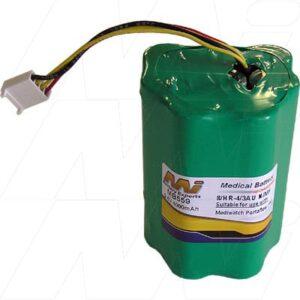 9.6V Mediwatch Portaflow MB559 Battery