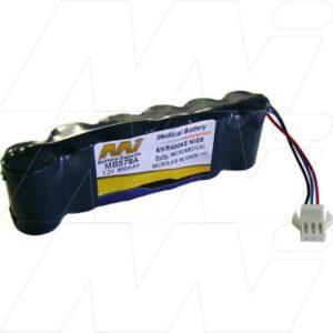 Micromedical Microlab ML3500 spirometer Mk5 (Serial No:15000+) Medical Battery, 7.2V, 600mAh, NiCd, Mst, MB578A