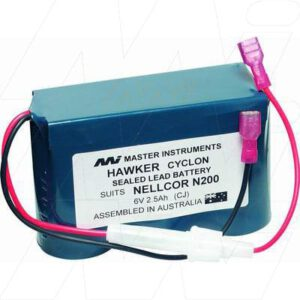 Nellcor N200 Oxymeter Medical Battery, 6V, 2500mAh, SLT, Mst, MB604