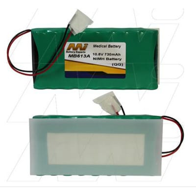 Maquet Theatre Table Remote Handset Medical Battery, 10.8V, 730mAh, NiMH, Mst, MB613A