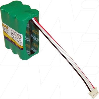 Nonin Medical 2120 Pulse Oximeter Medical Battery, 7.2V, 4000mAh, NiMH, Mst, MB640A
