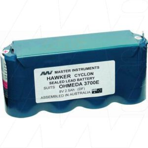 Datex Ohmeda 3700E Medical Battery, 8V, 2500mAh, SLT, Mst, MB659
