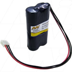 Datex Ohmeda 7800 Ventilator Medical Battery, 4.8V, 1300mAh, NiCd, Mst, MB666