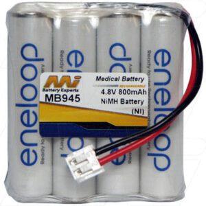 4.8V Philips SBC-EB4870 A1706 Baby MB945 Battery