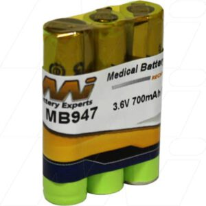 Summer Baby 02170 Video Monitor Medical Battery, 3.6V, 700mAh, NiMH, Mst, MB947