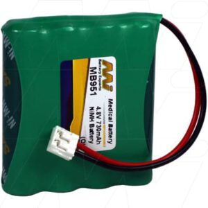 4.8V Philips SBC-EB4870 A1507 Baby MB951 Battery