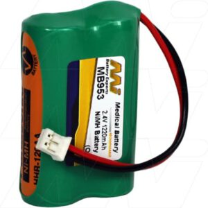 2.4V Philips SBC-466 MB953 Battery