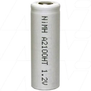 1.2V A Nickel Metal Hydride - NIMH High Temperature Industrial Cylindrical Cell, 2.1Ah, Mst, MH-A2100HT