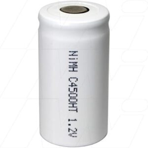 1.2V C Nickel Metal Hydride - NIMH Industrial High Temperature Cylindrical Cell, 4.5Ah, Mst, MH-C4500HT