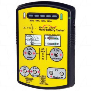 ZTS MINI-MBT Battery Tester For Primary & Rechargeable Batteries, MINI-MBT