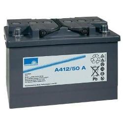 12V 50Ah GNB Sonnenschein Carbon Boost Range A412/50 A VRLA Gel Battery Cone pin Maintenance-Free, SLA, NGA4120050HS0CA