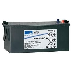 12V 180Ah GNB Sonnenschein Carbon Boost Range A412/180 A VRLA Gel Battery Cone pin Maintenance-Free, SLA, NGA4120180HS0CA