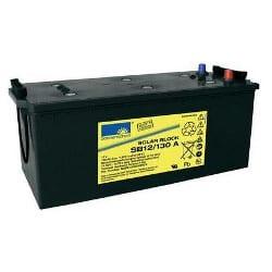 12V 130Ah GNB Sonnenschein SLA VRLA Gel Solar light battery (rechargeable), SB12/130 A, NGSB120130HS0CA