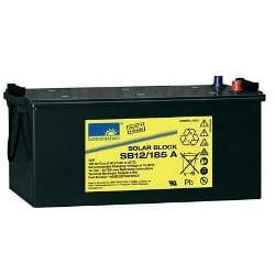 12V 185Ah GNB Sonnenschein SLA VRLA Gel Solar light battery (rechargeable), SB12/185 A, NGSB120185HS0CA