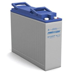 12V 110Ah Powersonic AGM Long Life Front Terminal Sealed Lead Acid (SLA) Battery, PGFT-12V100H FR