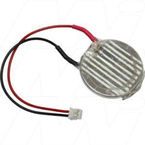 3V Lithium Manganese Dioxide Battery suitable for PLC, CNC & Memory Backup, 560mAh, Mst, PLC-CR2450-FX3U-32BL