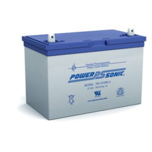 12V 100Ah Powersonic AGM General Purpose Sealed Lead Acid (SLA) Battery, PS-121000
