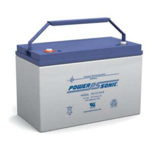 12V 110Ah Powersonic AGM General Purpose Sealed Lead Acid (SLA) Battery, PS-121100
