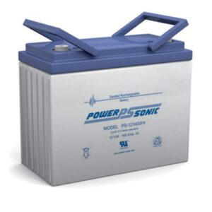 12V 140Ah Powersonic AGM General Purpose Sealed Lead Acid (SLA) Battery, PS-121400