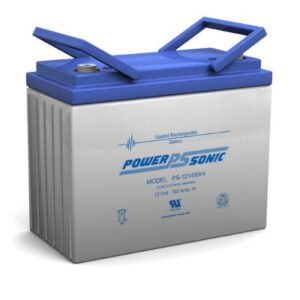 12V 140Ah Powersonic AGM General Purpose Sealed Lead Acid (SLA) Battery, PS-121400 FR