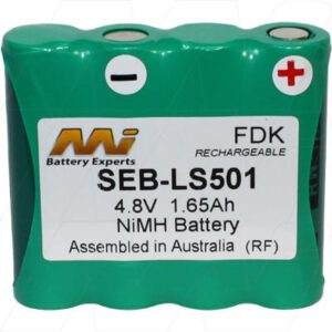 Spot On LS501 Laser Level Kit Survey Equipment Battery, 4.8V, 1.65Ah, NiMH, SEB-LS501