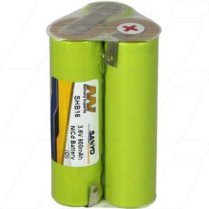 Babyliss T24B Shaver / Personal Grooming Battery, 3.6V, 900mAh, NiCd, SHB16