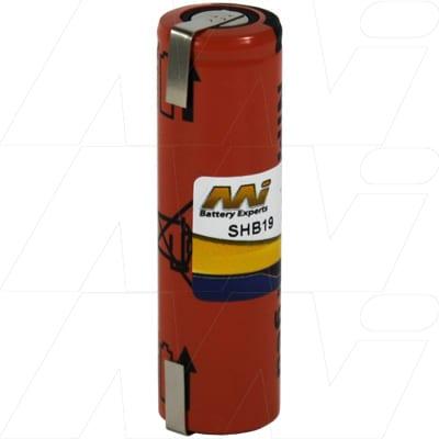 1.2V Philips 138-10584 SHB19 Battery
