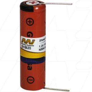 Braun 155 Shaver / Personal Grooming Battery, 1.2V, 1.6Ah, NiMH, SHB20