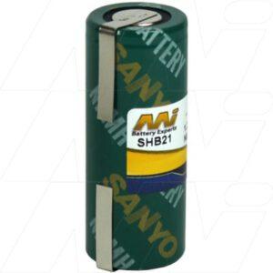 1.2V Philips 424-XL SHB21 Battery