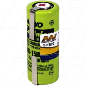 1.2V Philips 138-10611 SHB22 Battery