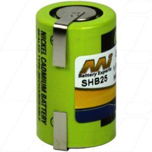 Braun 2500 Shaver / Personal Grooming Battery, 1.2V, 600mAh, NiCd, SHB25