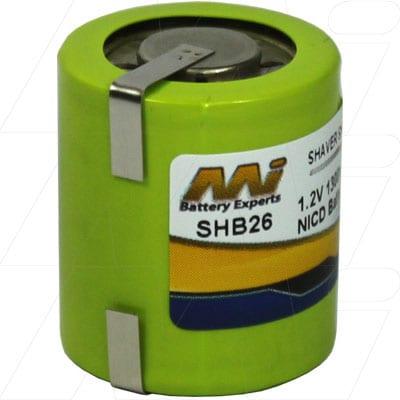 1.2V Philips HP1323 SHB26 Battery