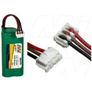 Wella HS-70 Shaver / Personal Grooming Battery, 3.6V, 730mAh, NiMH, SHB27