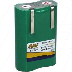 Sunbeam Clipper & Trimmer Personal Grooming / Clipper / Trimmer Battery, 2.4V, 2.7Ah, NiMH, SHB29