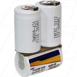 Wella HS-50 Personal Grooming / Clipper Battery, 3.6V, 600mAh, NiCd, SHB36