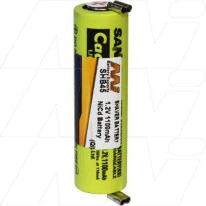 1.2V Wella HS-40 SHB45 Battery