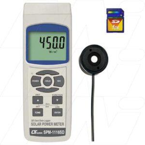 Lutron Datalogger SPM1116SD Solar Power Meter with 3 Functions: Solar Power, Power Integration, Transmission, SPM1116SD
