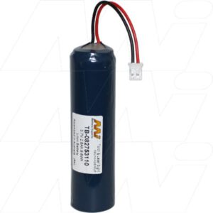 3.7V LiIon Battery suitable for Specialised Torch & Laser Sight, 2600mAh, Mst, TB-082753110
